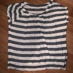 Calvin Klein Blouse shirt Top Size Large XL euc